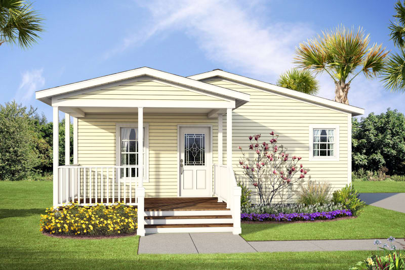 SIG 4443 exterior with half porch