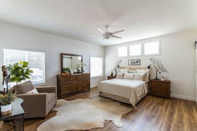 The Kingsbrook master bedroom