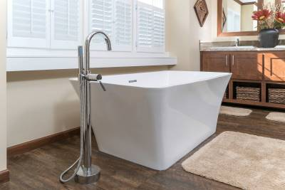 Radiant Spa Bath, soaking tub