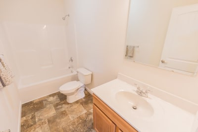 Excel Homes, Crestwood 3A, bathroom