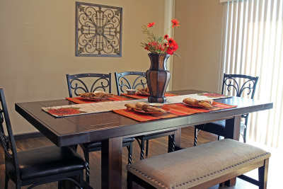 Augusta by Titan Factory Direct dining room