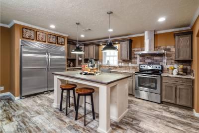 Champion Homes, Dresden TN, kitchen