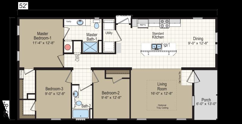 Homes Of Merit >> Homc 4523a Homes Of Merit Champion Homes