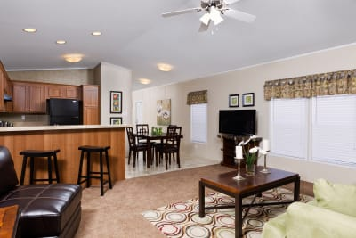 Medina by Titan Factory Direct living room, kitchen, dining room