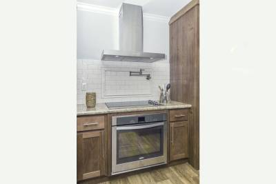 Athens, Texas - Ultimate Kitchen Two range, hood, inlay backsplash, pot filler
