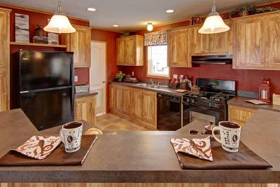 Redman Homes, Ephrata PA, Kitchens
