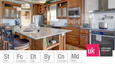 Redman Homes, Lindsay, California, Ultimate Kitchen
