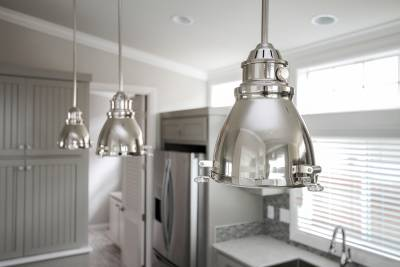 Silvercrest Craftsman, California - designer selected pendant lighting