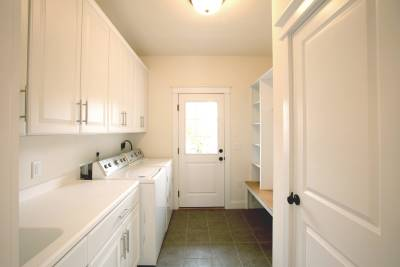 Excel Homes utility room
