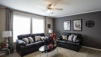 Highland Manufacturing, mobile homes, living room
