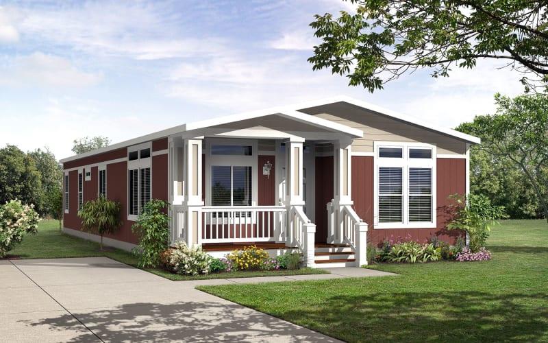 Kingsbrook 59 exterior with optional porch