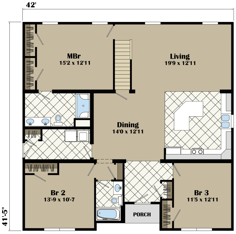 The Charleston New Image Homes – Charleston Homes Floor Plans