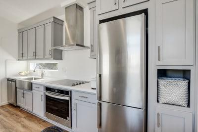 Urbaneer ADU by Genesis Homes - kitchen appliances