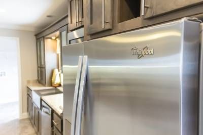 Optional stainless steel appliances
