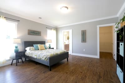 Excel Homes, The Charles, master bedroom