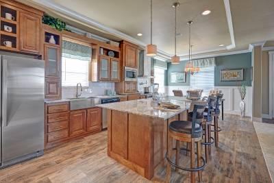 Redman Homes, Lindsay, California, Kitchens