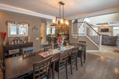 The Lakeport dining room