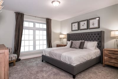 The Brookly master bedroom