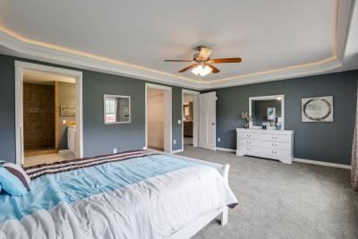 North American Housing, Bedrooms