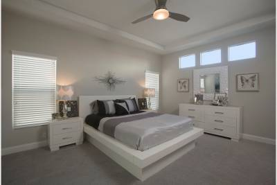 Silvercrest Kingsbrook, California - master bedroom