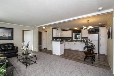 Northwood B24401 living room and kitchen