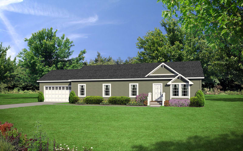Barclay-5617-Optional-7-12-R0oof-Pitch-with-Site-Built-Garage-by-Other