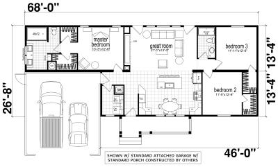 Genesis Homes - Model 3 standard