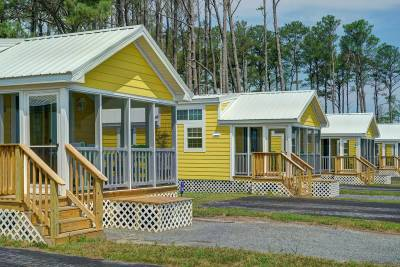 Park model rvs, Athens Park by Champion Homes