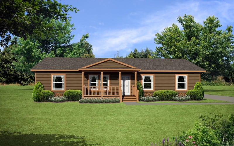 Lifestyle-450-Exterior Elevation with Porch
