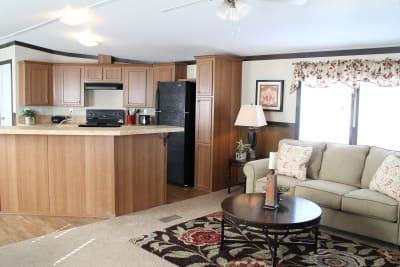 Bailey by Titan Factory Direct living room and kitchen