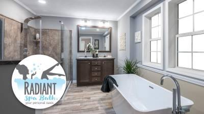 Dutch Housing, Radiant Spa Bath