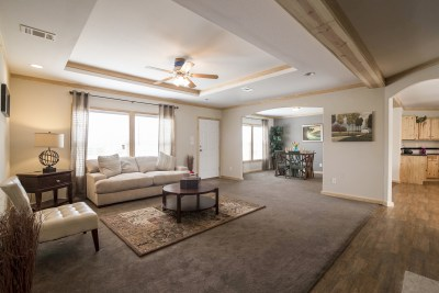 Brazos XL living room and dining room