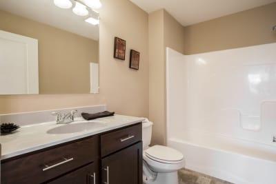New Era Beckley guest bathroom