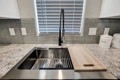 Genesis Homes - Model 11 kitchen sink