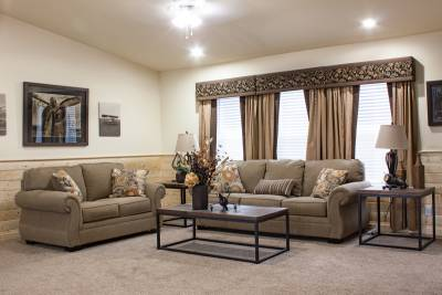 Redman Homes, York, Nebraska, Living Rooms