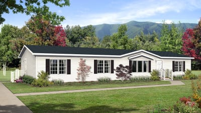 Manufactured home plans available through Baird Homes of