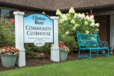 Clinton River clubhouse