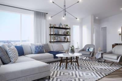The Corner living room