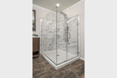 Ridgecrest optional Radiant Spa Bath shower
