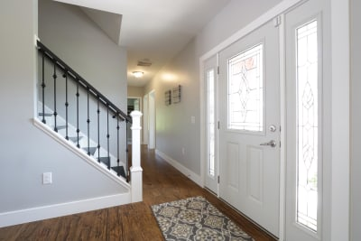 Excel Homes, The Charles, foyer