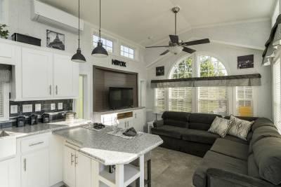 Park Model 553L - Atlantic Homes | Athens Park Models RV