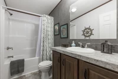 The Taylor 701A bathroom