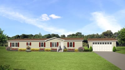 Manufactured home plans available through Dinkins Mobile