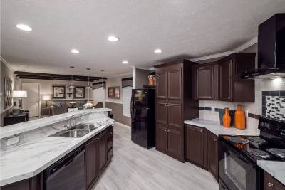 Champion Homes, Dresden TN, kitchens