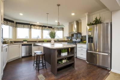 champion Homes, North Carolina, manufactured homes, kitchen