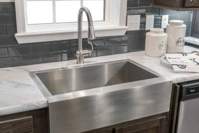 Ridgecrest Ultimate Kitchen Two stainless steel sink