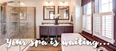 Redman Homes, Eprhata, Pennsylvania, luxurious spa-life master bath
