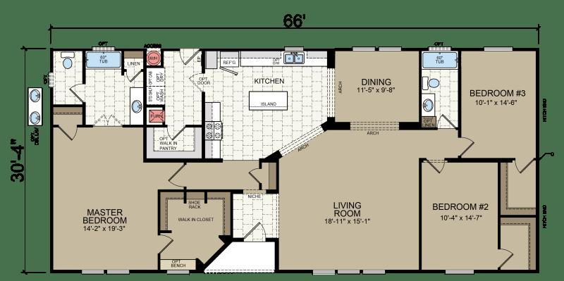 American Freedom 3266 Champion Homes Champion Homes