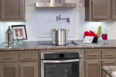 North American Housing, Ultimate Kitchen Two, pot filler and stove