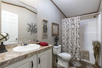 The Wentz 492B bathroom
